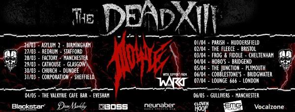 dead XIII tour 2018